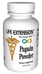 Life Extension Papain 100 grams Powder