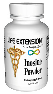 Life Extension Inosine 100 grams Powder