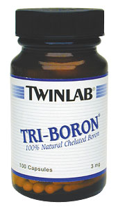 Life Extension Tri Boron  3 mgs 100 Capsules