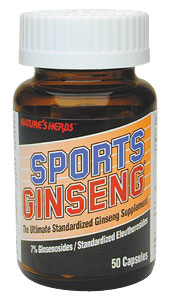 Life Extension Sports Ginseng 400 mgs 50 Capsules