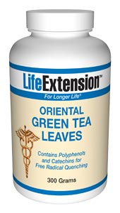 Life Extension Green Tea  300 grams Powder