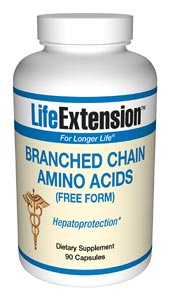 Life Extension Branched Chain Amino Acids 600 mg 90 Capsules