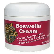 Life Extension Boswella Cream  4 oz Jar