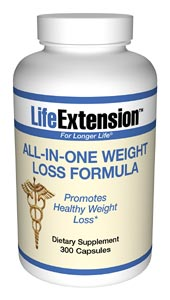 Life Extension All In One Weight Loss 300 Capsules
