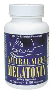 Life Extension Natural Sleep 5mg 60 Capsules