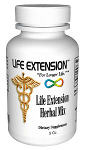 Life Extension Herbal Mix 9 0z Powder