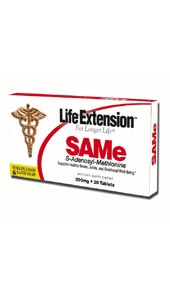 Life Extension Same 200 mg 20 Tablets (Blister Pack)