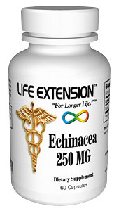 Life Extension Echinacea Extract 250 mg 60 Capsules
