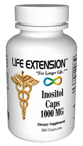 Life Extension Inositol1000 mg 360 Capsules