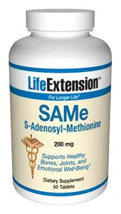 Life Extension Same 200 mgs 50 Tablets