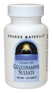 Life Extension Glucosamine Sulfate 750 mg 60 Tablets