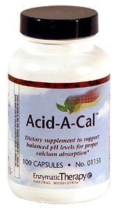 Life Extension Acid A Cal 100 Capsules