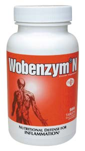 Wobenzym 200 Tablets