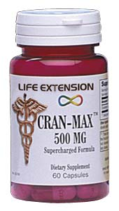 Life Extension Cranmax 60 500 mg Capsules