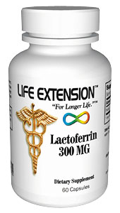 Life Extension Lactoferrin 300 mgs 60 Capsules