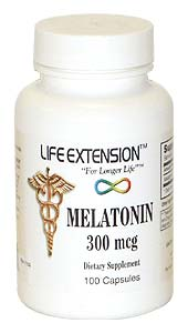 Life Extension Melatonin 300 Mcgs 100 Capsules