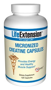 Life Extension Creatine 120 Capsules Micronized
