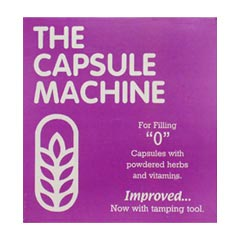 Life Extension Capsules Filler Machine Size 0