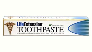 Life Extension Tooth Paste  8 oz