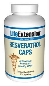 Life Extension Resveratrol 60 20 mg Capsules