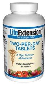Life Extension 2 Per Day 60 Tablets