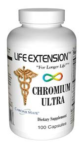 Life Extension Chromium Ultra 100 Capsules