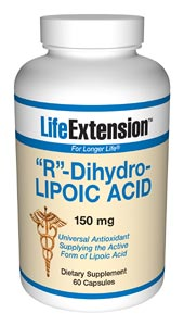 Life Extension R-Lipoic Acid 60 Vegetarian Capsules