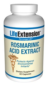 Life Extension Rosemarinic Acid Extract 60 Capsules