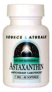 Life Extension Astaxanthin 1 mg 60 Softgels