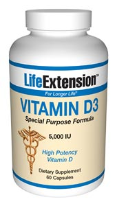 Life Extension Vitamin D35000 Iu 60 Capsules