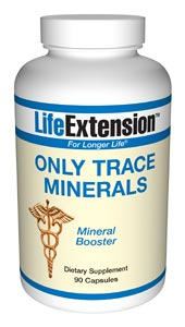 Life Extension Only Trace Minerals 90 Capsules