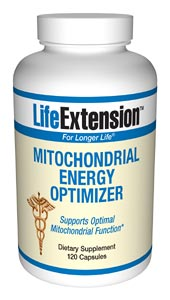 Life Extension Mitochondrial Energy Optimizer W/O Wheat Sprouts 120 Caps