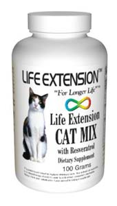 Life Extension Cat Food W/Resveratrol 100 grams
