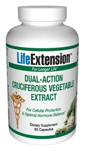 Life Extension Dual Action Cruciferous Veg Extract 60 Caps