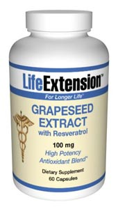 Life Extension Grape Seed Extract W/ Resveratrol