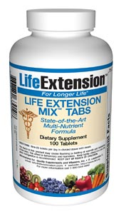 Life Extension Mix 100 Tablets