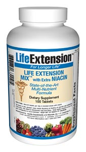 Life Extension Mix 100 Tablets W/N