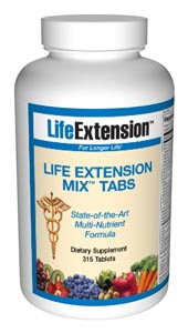 Life Extension Mix 315 Tablets