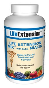 Life Extension Mix 315 Tablets W/N