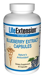 Life Extension Wild Blueberry Extract Capsules 60 Caps