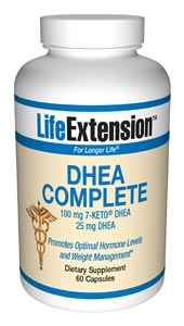 Life Extension Dhea Complete 60 Softgels