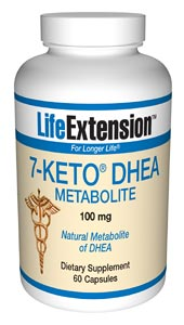 Life Extension 7-Keto Dhea 100mg 60 Caps
