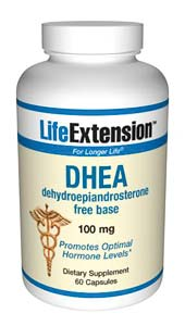 Life Extension Dhea 100mg 60 Capsules