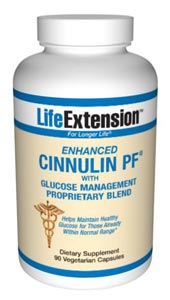 Life Extension Enhanced Cinnulin Pf W/ Glucose Management Proprietary Blend