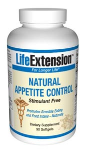Life Extension Natural Advanced Natural Appetite Suppress