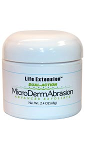 Life Extension Dual Action Microdermabrasion Advanced Exfoliate 2.4 oz Jar