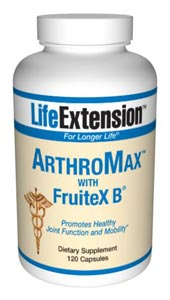 Life Extension Arthromax With Fruitex B 120 Capsules
