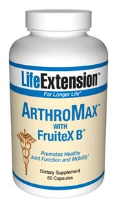 Life Extension Arthromax With Fruitex B 60 Capsules