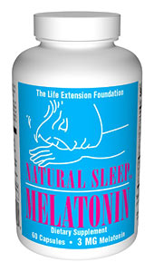 Life Extension Natural Sleep 3mg 60 Capsules