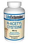 Life Extension N-Acetyl Cysteine 600 mg 60 Capsules